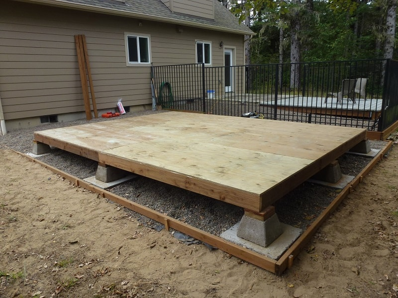 Deck Builders Columbus Pressure-Treated Wood